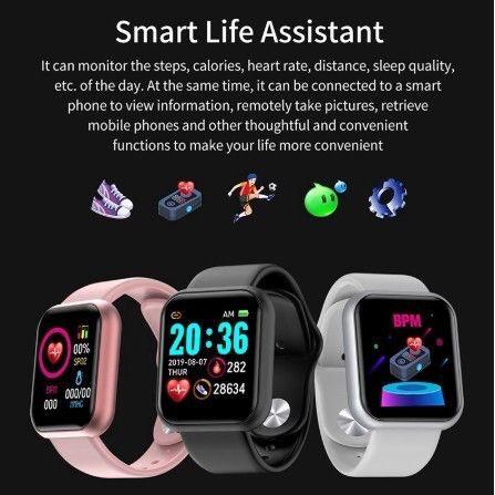 Smart Watch com Bluetooth Y68 - Foto 5
