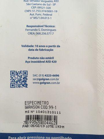 Vendo especimetro iwanson - golgran - Foto 2