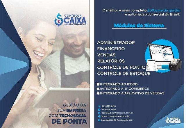 Software de gestão, controle de estoque, ponto de funcionários, emissão de nota fiscal