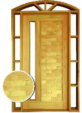 Porta de Madeira Com visor lateral  - Foto 3