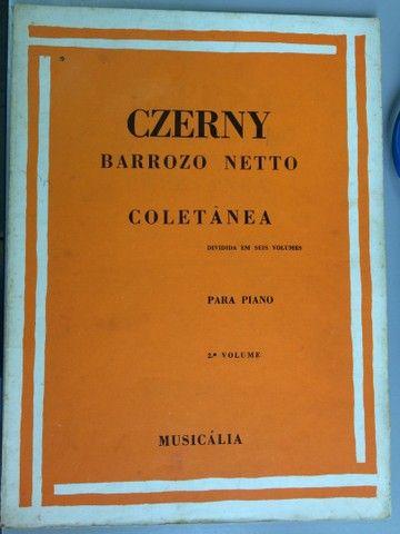 Czerny técnica para piano, 6 volumes - Foto 2