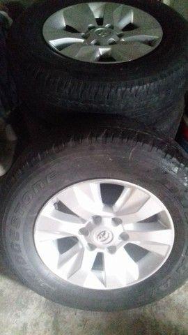 Vendo rodas da hilux  - Foto 4