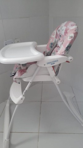 Cadeira de alimentação infantil da barigotto semi nova
