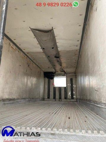 Baú frigorífico 14 paletes Comprimento 7,60m repasse  - Foto 2
