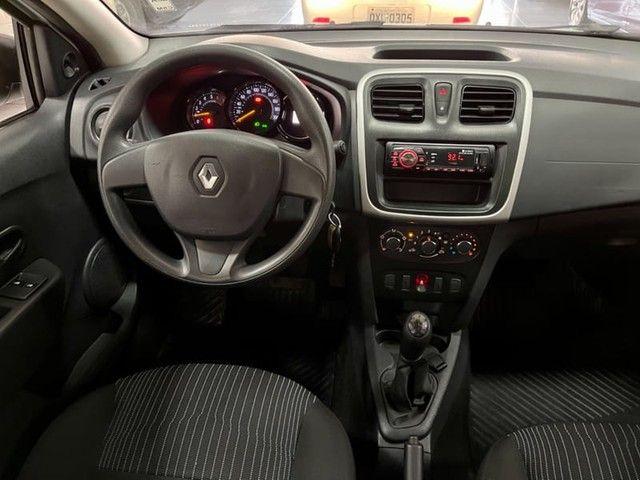 Renault Logan Authentique 1.0 12V  (Flex) - 2019 - Foto 7