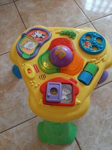 Mesinha de atividades infantil Fisher Price - Foto 3
