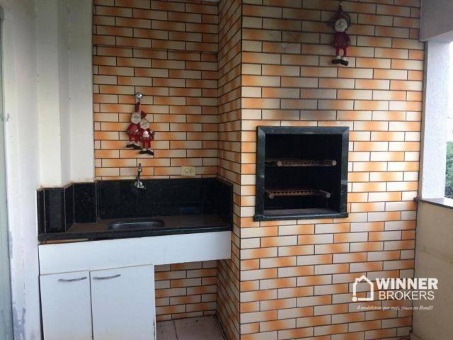 Ótimo apartamento mobiliado à venda no centro de Cianorte! - Foto 6