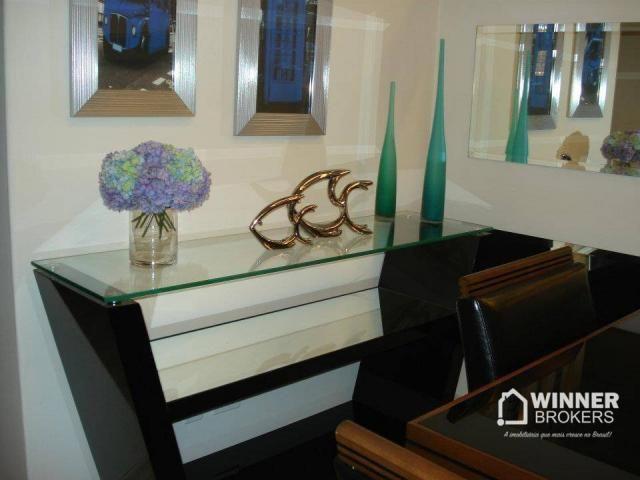 Lindo apartamento mobiliado à venda no novo centro de Cianorte! - Foto 6