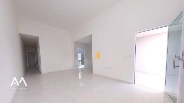 Casa Plana com 3 dormitórios sendo 2 suítes à venda, 90 m² por R$ 229.000 - Encantada - Eu - Foto 8