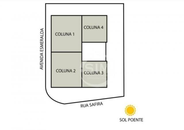 Cobertura com 2 dormitórios à venda, 81 m² - Nova São Pedro - São Pedro da Aldeia/RJ - Foto 10