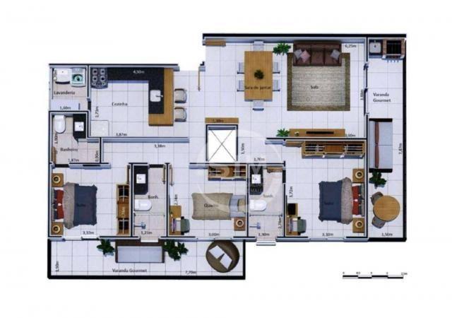 Cobertura com 2 dormitórios à venda, 81 m² - Nova São Pedro - São Pedro da Aldeia/RJ - Foto 14