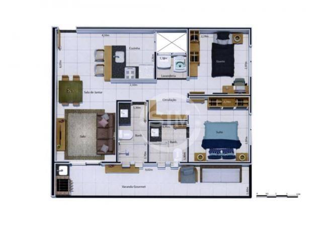 Cobertura com 2 dormitórios à venda, 81 m² - Nova São Pedro - São Pedro da Aldeia/RJ - Foto 12