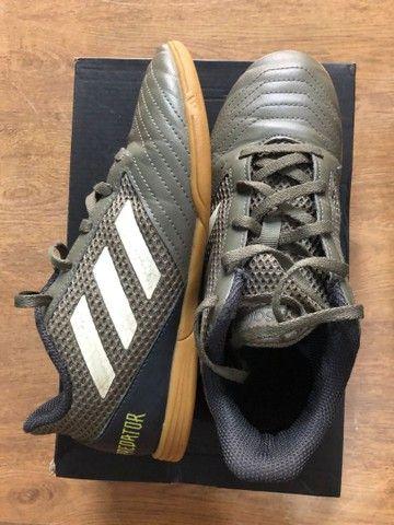 Chuteira Futsal Adidas Predator número 34