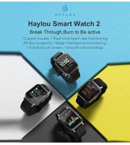 Smartwatch Xiaomi Haylou Ls02 Original Lacrado - Foto 3