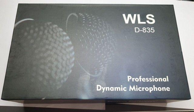 Microfone Profissional Dinâmico - WLS modelo D-835