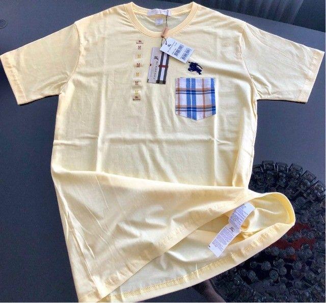camisetas burberry atacado basicas masculinas  - Foto 3