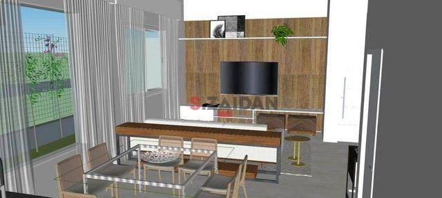 Casa com 3 dormitórios à venda, 180 m² por R$ 1.055.000,00 - Residencial Villa D?Aquila -  - Foto 5