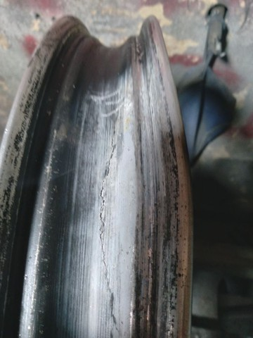 Reforma de jante de moto desempenhando só de alumínio - Foto 6