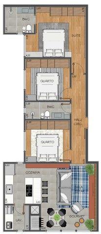 Apartamento com 03 quartos - Avenida Maripá - Próximo ao Supermercado Primato 120,00m2 - Foto 4