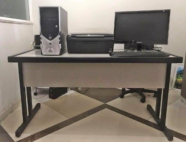 Mesa para escritório + computador completo.  - Foto 3