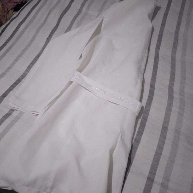 Jaleco Branco M grande - Foto 3