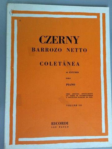Czerny técnica para piano, 6 volumes - Foto 3