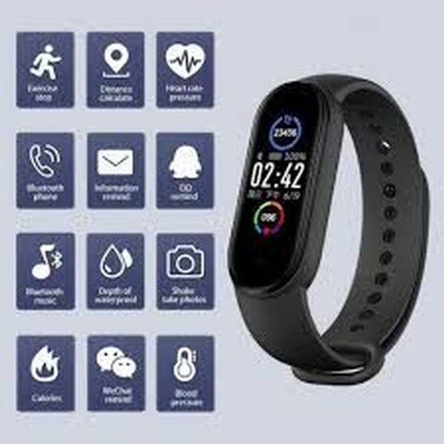 Smartband M5 Smartwatch Pulseira inteligente - Foto 2