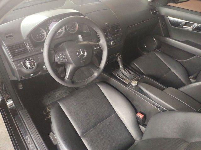 Mercedes  Benz c 200 completíssima  teto solar 2009 2.0 turbo kompressor ligue *  - Foto 11
