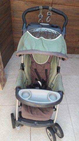 Carrinho de bebê e bebê conforto  - Foto 4