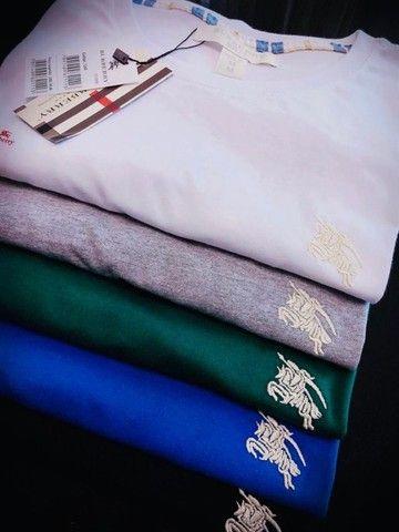 camisetas burberry atacado minimo 10 pcs envios imediatos  - Foto 2