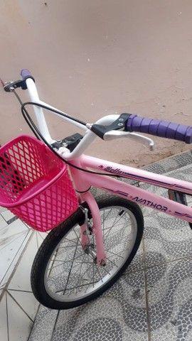 Bicicleta feminina infantil nova  - Foto 2
