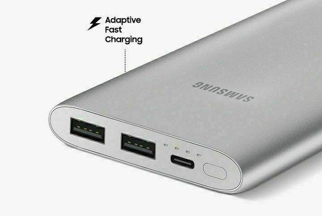 Carregador Portátil Power Bank Samsung Original Lacrado - Foto 6
