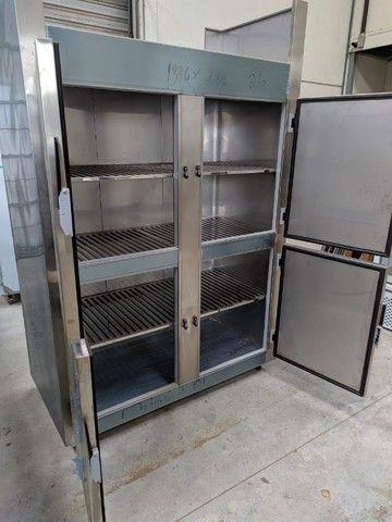 Refrigerador/Congelador Industrial - 100% Aço Inox AISI 430 - NOVO - Foto 3