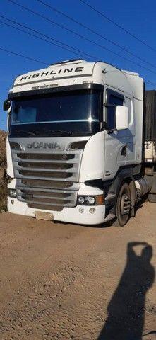 Scania R480 6X4, 2013+ Rodotrem Randon 3x3