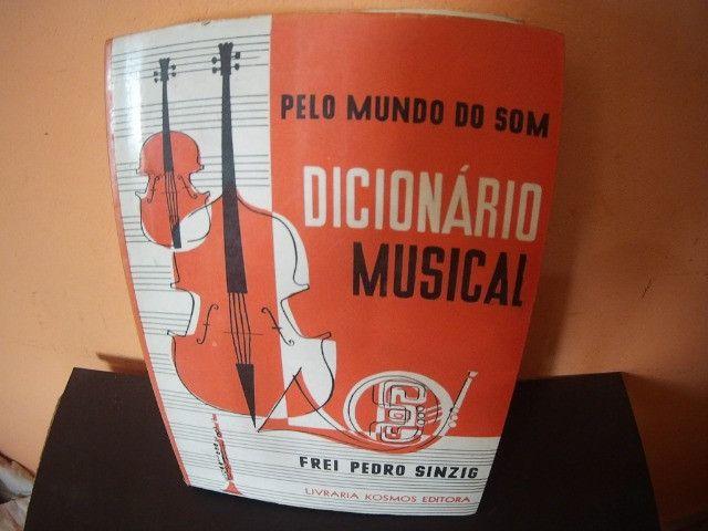Coleção Livros de Musicas raros