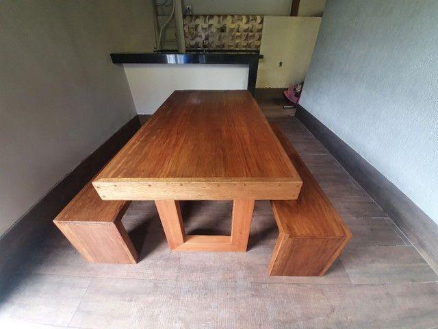 Mesa de madeira demolição  - Foto 3