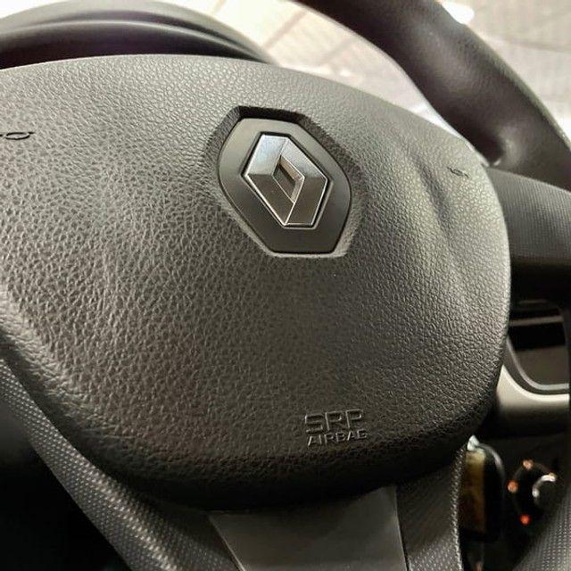 Renault Logan Authentique 1.0 12V  (Flex) - 2019 - Foto 8