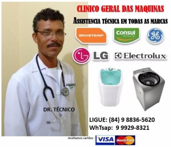 Clinico geral das maquinas de lavar