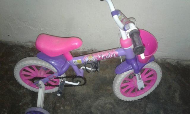 Bicicleta com rodinha