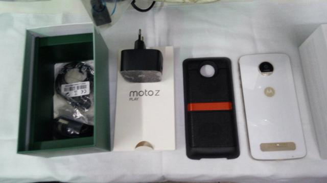 Moto z play com snap som Jbl promoção