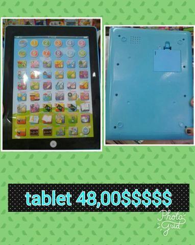 Tablet educativos pilhas