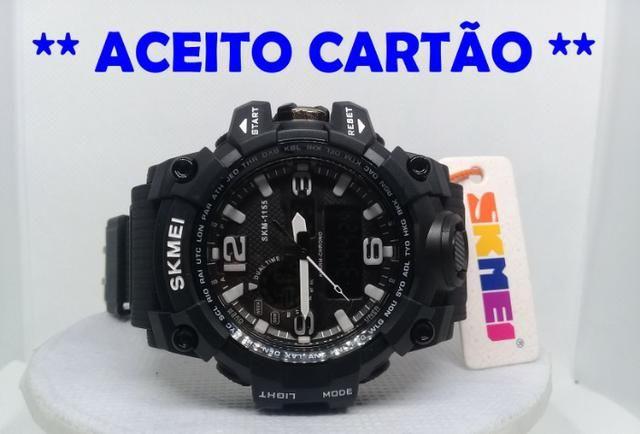 ec6556cf2 Relógio masculino SKMEi / Militar / Esportivo / A prova d'água