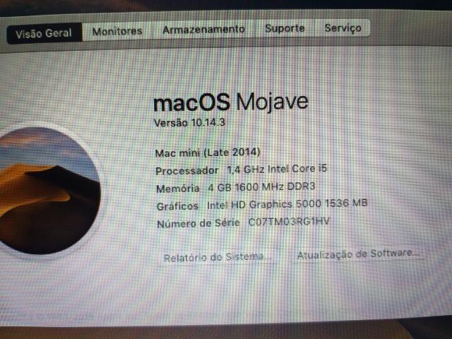 cfefbb3079b Oportunidade Única !!!! Mac mini com nota fiscal e na caixa completo ...