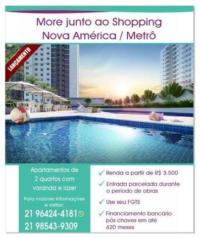 Apartamento 2 quartos, lazer completo junto ao Nova América Metrô Del Castilho! - Foto 19
