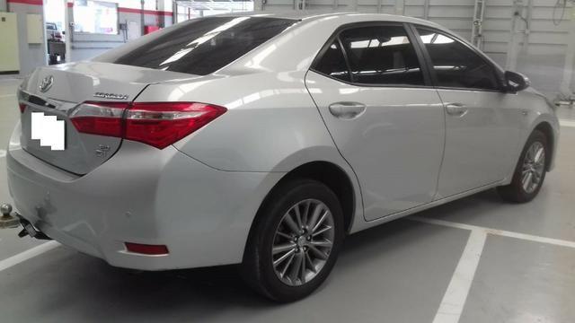 Toyota Corolla xei at muito novo, bancos de couro bege claro, um luxo de carro - Foto 6