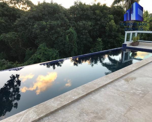 Casa à venda alphaville salvador ii, nova, r$ 2.190.000,00, piscina, espaço gourmet, área  - Foto 2