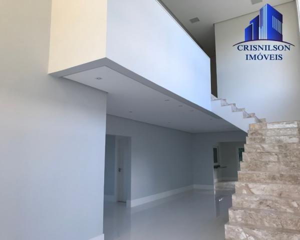Casa à venda alphaville salvador ii, nova, r$ 2.190.000,00, piscina, espaço gourmet, área  - Foto 11