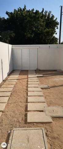 Casa plana no eusébio com terreno grande - Foto 2