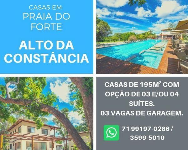 Casas em Praia do Forte - Mata de São João. 3 ou 4 Quartos, 3 vagas