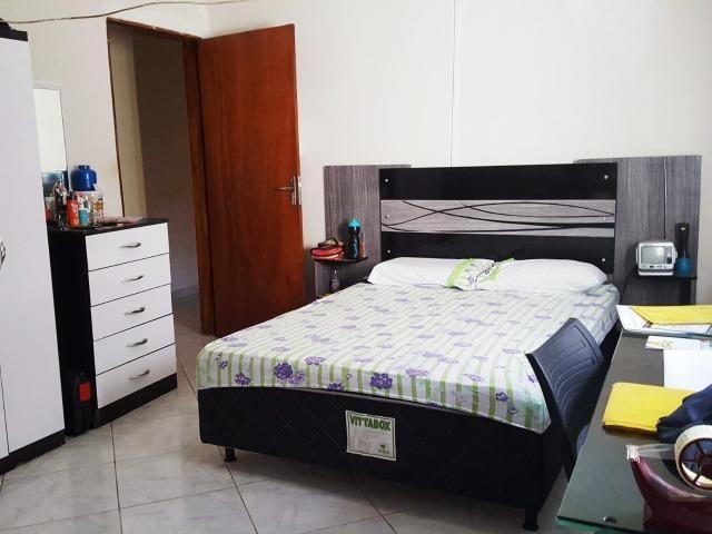 Ótima casa, toda na laje, 03 quartos! Lote de 500m² na Colônia Agrícola Samambaia - Foto 6